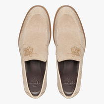 Berluti Loafers & Slip-ons Loafers Leather Logo Loafers & Slip-ons 7