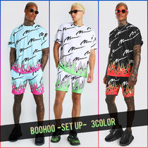 boohoo Unisex Street Style Co-ord Loungewear Two-Piece Sets