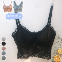 Flower Patterns Lace Icy Color Sheer Bras
