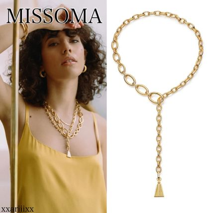 Casual Style Chain Party Style Brass 18K Gold Elegant Style