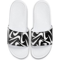 Nike BENASSI Street Style Shower Shoes Logo Shower Sandals