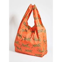 BAGGU Unisex Other Animal Patterns Logo Shoppers