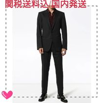 Dolce & Gabbana Blended Fabrics Street Style Co-ord Front Button Suits