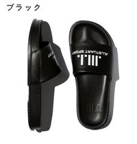 JILLSTUART Casual Style Unisex Slippers Co-ord Logo Sandals