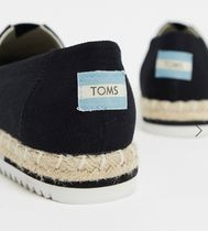 TOMS Casual Style Plain Logo Slip-On Shoes
