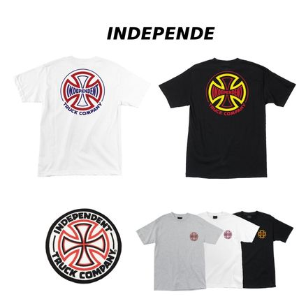 INDEPENDENT Short Sleeves T-Shirts