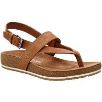 Timberland Open Toe Casual Style Plain Leather Sandals Sandal