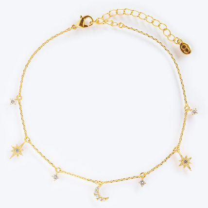 Girlscrew Costume Jewelry Casual Style 18K Gold Anklets