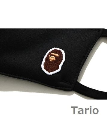 A BATHING APE Unisex Street Style Logo Accessories