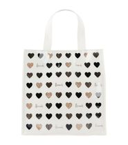 Harrods Heart Casual Style PVC Clothing Elegant Style Totes