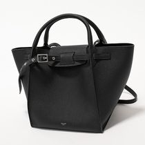 CELINE Big Bag Small Big Bag With Long Strap In Supple Grained Calfskin