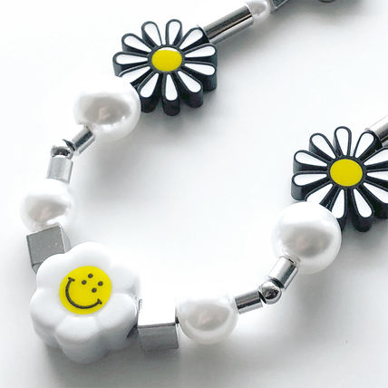 Flower Patterns Unisex Street Style Necklaces & Chokers
