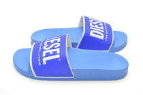 DIESEL Shower Shoes PVC Clothing Logo Shower Sandals