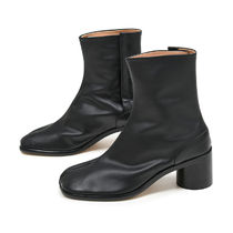 Maison Margiela Tabi Plain Leather Boots