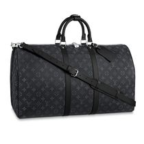 Louis Vuitton MONOGRAM Monogram Unisex Canvas A4 Leather Logo Boston Bags