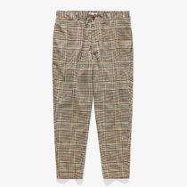 BANKS Tapered Pants Glen Patterns Other Plaid Patterns