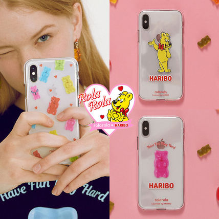 Unisex Street Style Plain Other Animal Patterns iPhone X