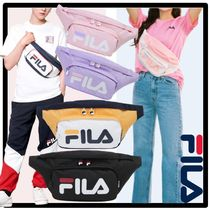 FILA Casual Style Unisex Street Style Shoulder Bags