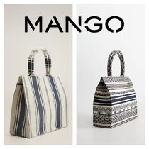 MANGO Stripes Bags