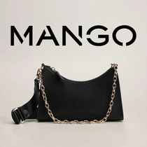 MANGO Chain Shoulder Bags