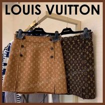 Louis Vuitton Monogram Logo Skirts