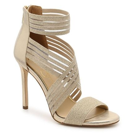 Open Toe Round Toe Plain Leather Pin Heels Party Style