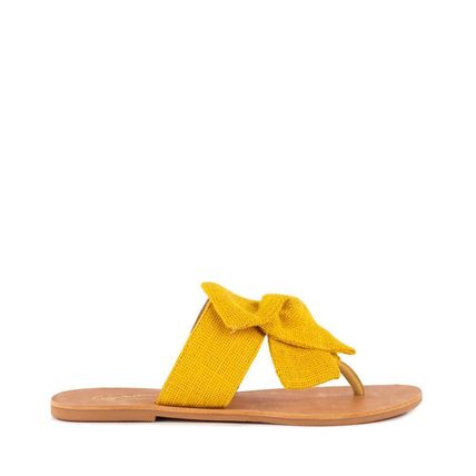 Platform Round Toe Casual Style Leather Flip Flops Mules