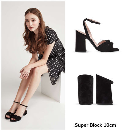 Open Toe Platform Casual Style Pin Heels Party Style