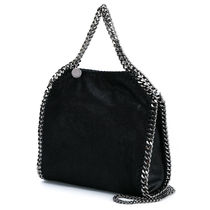Stella McCartney FALABELLA Casual Style Unisex Faux Fur 2WAY Chain Plain Office Style