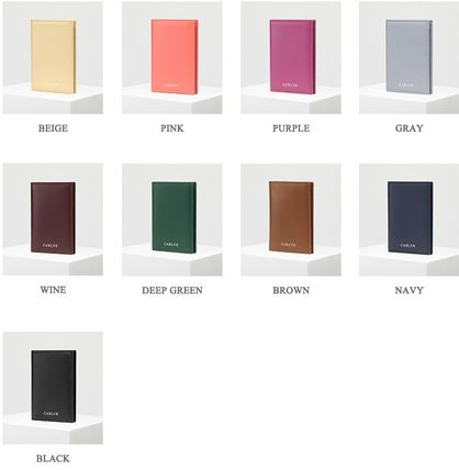 Unisex Blended Fabrics Street Style Long Wallets