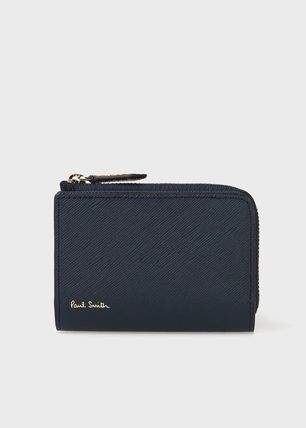 Paul Smith Logo Plain Leather Keychains & Holders