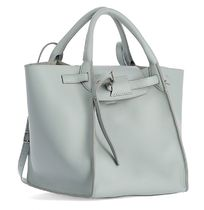 CELINE Big Bag Calfskin 2WAY Plain Elegant Style Logo Totes