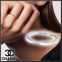 CHANEL Casual Style Unisex Party Style Platinum Office Style