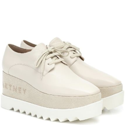 Stella McCartney ELYSE Platform Rubber Sole Casual Style Logo