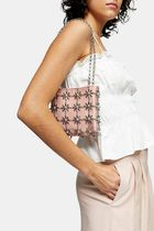 TOPSHOP Flower Patterns Casual Style Chain Party Style Icy Color