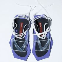TOGA Open Toe Lace-up Street Style Plain Sport Sandals