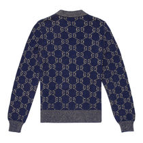 GUCCI Long Sleeves Cotton Luxury Sweaters