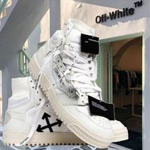 Off-White OFF COURT Street Style Logo Sneakers