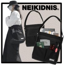 NEIKIDNIS Casual Style Unisex Street Style Shoulder Bags