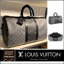 Louis Vuitton MONOGRAM Monogram Unisex Calfskin Canvas Blended Fabrics Leather Logo