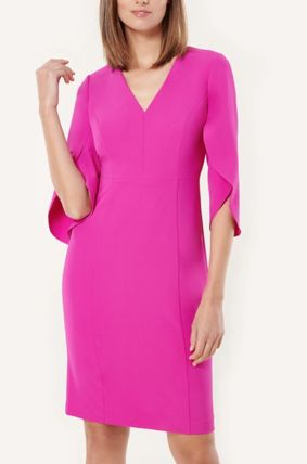 Formal Style  Bridal Casual Style A-line Nylon V-Neck
