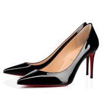 Christian Louboutin Casual Style Plain Pin Heels Party Style Elegant Style