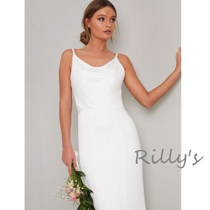 Chi Chi London Tight Maxi Sleeveless Plain Bridal Wedding Dresses