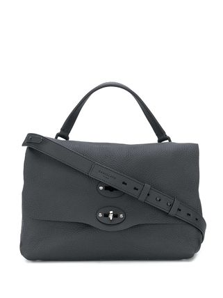 Casual Style Plain Leather Office Style Handbags