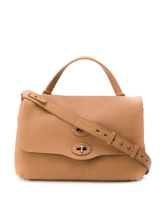 Casual Style Plain Leather Office Style Shoulder Bags