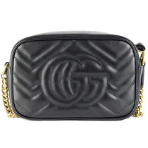 GUCCI GG Marmont Leather Totes