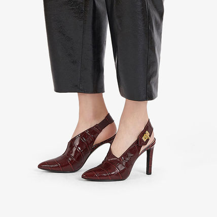 GIVENCHY Leather Party Style Elegant Style High Heel Pumps & Mules