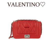 Mario Valentino Casual Style 2WAY Leather Party Style Elegant Style