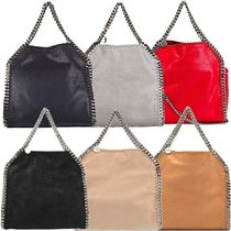 Stella McCartney FALABELLA Casual Style Faux Fur Blended Fabrics Street Style 3WAY