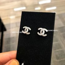 CHANEL Casual Style Party Style Earrings